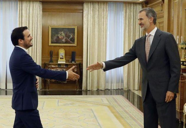 Garzón y Felipe VI, este