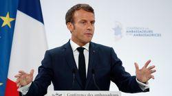 Face aux députés LREM (dont Villani), Macron met en garde contre la