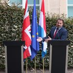 Boris Johnson's No-Show At Luxembourg Press Conference Spawns A Meme For The