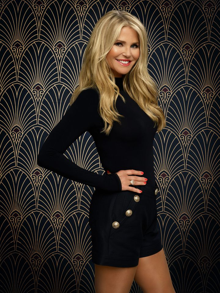 "Christie Brinkley's promo photo for ""Dancing With the Stars."""