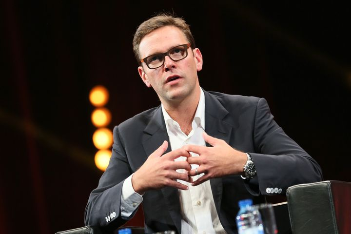 James Murdoch doesn't see eye to eye with the primetime Fox News hosts who work for his family's company.