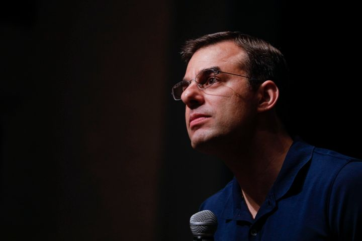 Rep. Justin Amash was the first then-Republican member of Congress to say that President Donald Trump engaged in impeachable
