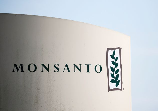 The logo of Monsanto is seen at the Monsanto factory in Peyrehorade, France, August 23, 2019. REUTERS/Stephane