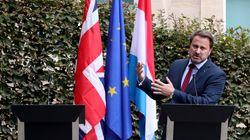 공동기자회견 '노쇼'한 영국 총리가 룩셈부르크 총리에게 굴욕을