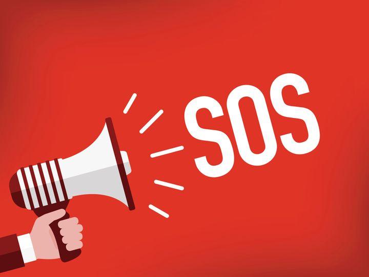 SOS(イメージ写真)