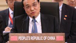 중국 리커창, 한국 정부를