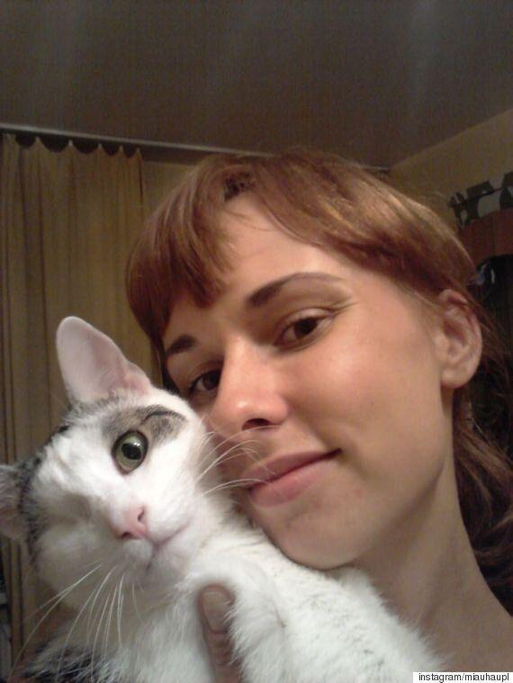 한쪽 눈을 다친 고양이를 구한