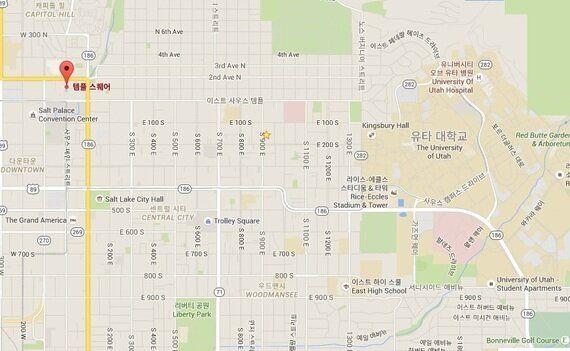 [18일간의 미국 서부 일주 ④]솔트레이크시티, 길찾기 비법은 바로
