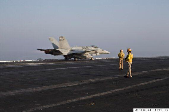 시리아 IS 공습 '국제동맹군'이라더니 미군 비중