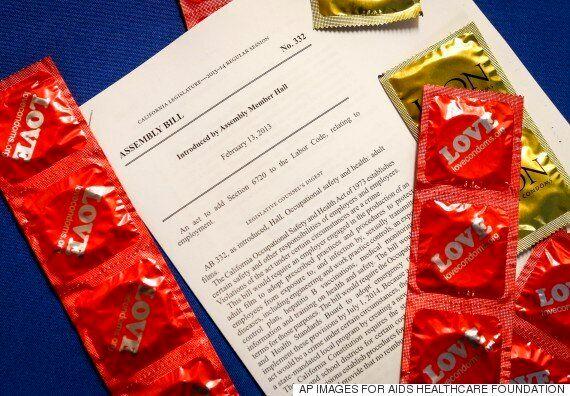 미국 캘리포니아주, '포르노배우 콘돔 의무착용법' 주민투표