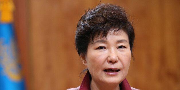 박근혜 대통령이 미국으로 떠나기 전 남긴