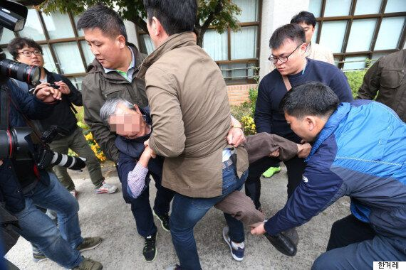 경찰서장을 폭행한 어버이연합