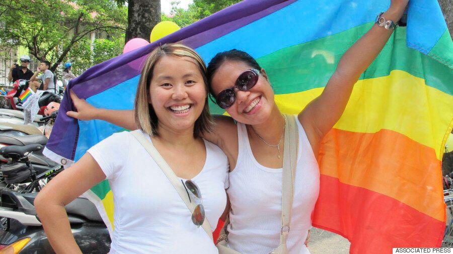 베트남은 LGBT 인권의 선도자라는 찬사를 받았다. 활동가들의 의견은