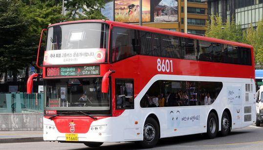[화보] 김포~서울 2층버스 첫
