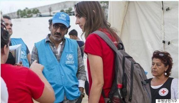'요구르트 억만장자', 난민 구호의 최전선에 서다(사진,