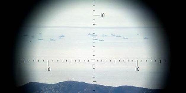 해군, NLL침범 북한 어선단속정에