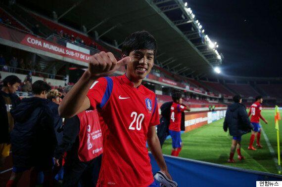 U-17 월드컵 한국, 기니 꺾고 16강 확정(화보, 영상