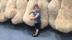 영국 코스트코에서 판매하는 거대한 곰인형(사진,