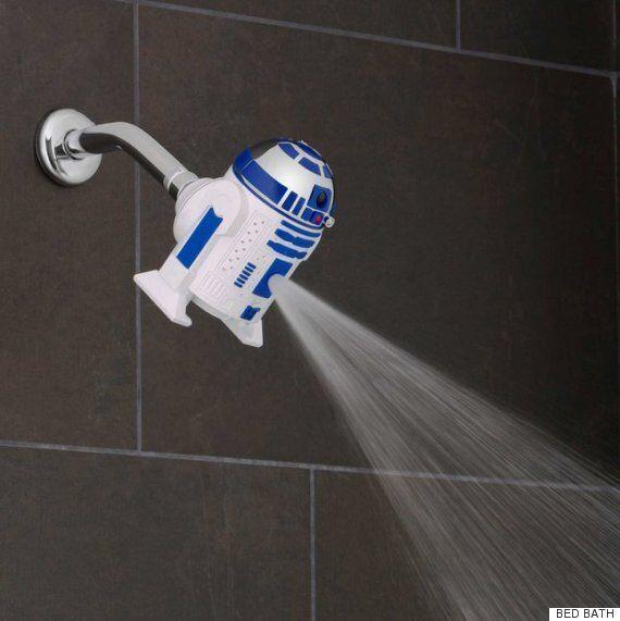 다스베이더 샤워기를 사용하면 '포스가