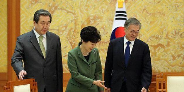 박 대통령의 방미설명 '회동' 제안에 야당은 '교과서 회담'으로