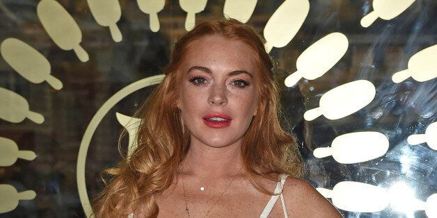 Photo by: KGC-143/STAR MAX/IPx 2015 7/1/15 Lindsay Lohan at the launch of the Magnum Pleasure Store in...
