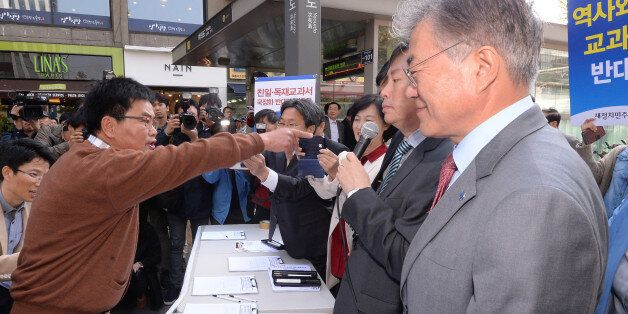 어버이연합, '국정화 반대 서명운동'