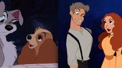 디즈니 동물 캐릭터들이