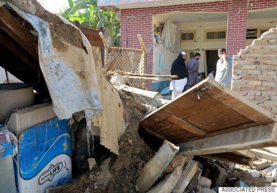 아프간-파키스탄 강진 사망자 400명