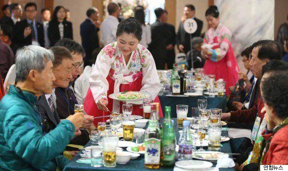 북측 상봉자들이 신기하게 생각한 한국의 몇