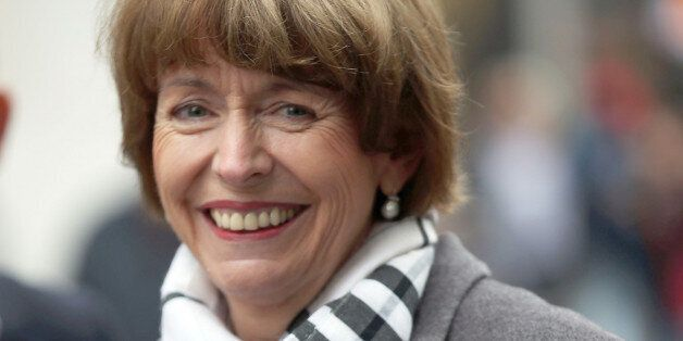 In this Friday, Oct. 16, 2015 photo independent candidate for the mayor of Cologne Henriette Reker smiles...