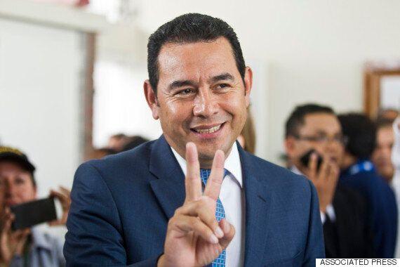 코미디언 출신 과테말라 새 대통령,