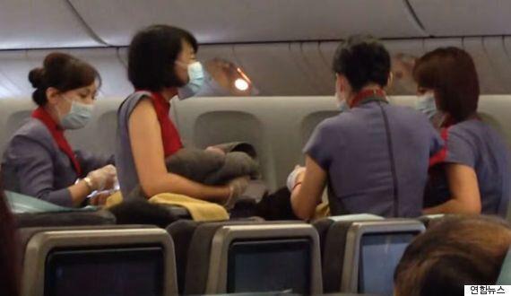 미국행 비행기 '기적의 출산' 임산부의 거짓말이