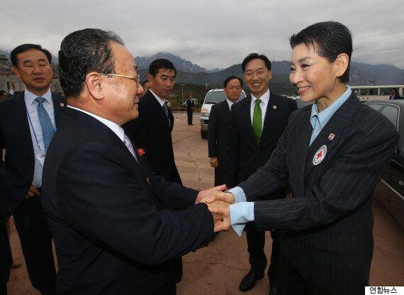 북한 상봉단장