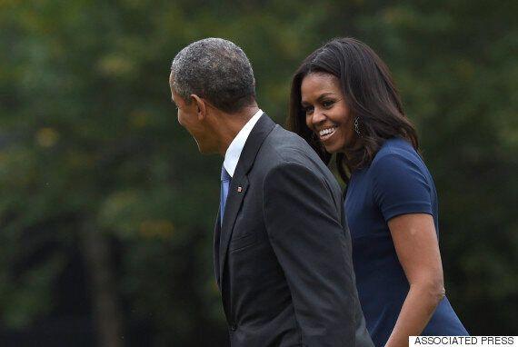 결혼 23주년을 맞은 오바마 부부의 다정한