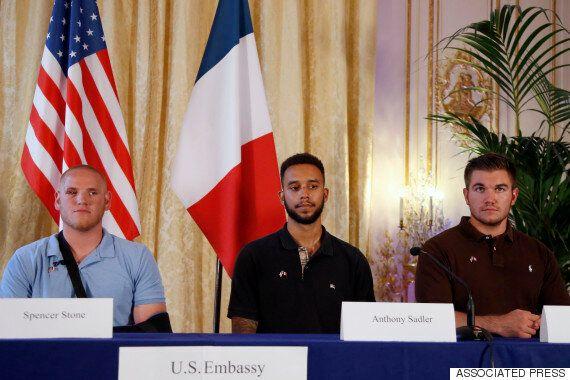 프랑스 열차 테러 막은 미국인 영웅이 칼에