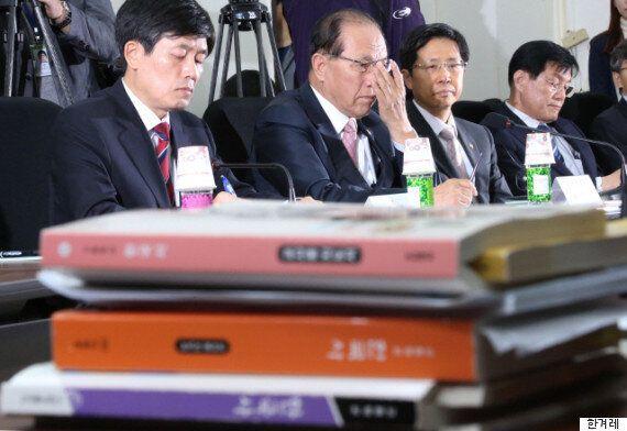 박근혜 정부, '한국사 국정교과서' 확정