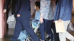어깨 수술 박근혜, 3개월 치료