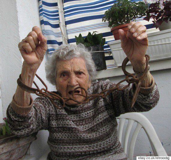 이베이(ebay)의 스타로 떠오른 불가리아의 94세