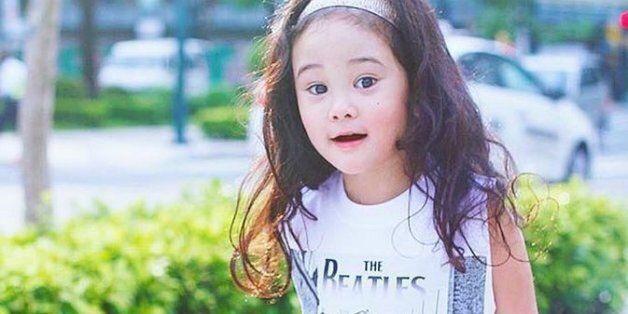 패션 스타가 된 4살배기 꼬마