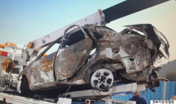 악명 높은 88고속도로에서 승용차 충돌로 남매