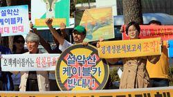 설악산 주민들, '케이블카 반대 대책위'