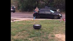 에어백과 타이어를 이용한 황당한