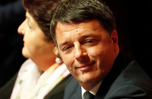 Former Prime Minister and senator Matteo Renzi attends the first Senate session since the March 4 national...