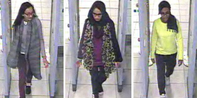 지난 2월 IS 가입을 위해 시리아로 떠난 영국인 소녀