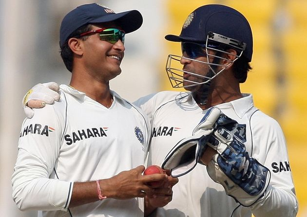File image of Sourav Ganguly and MS
