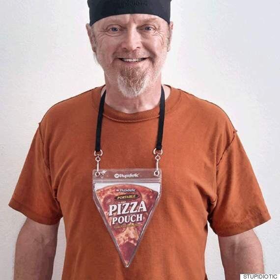 피자 한 조각을 휴대할 수 있는