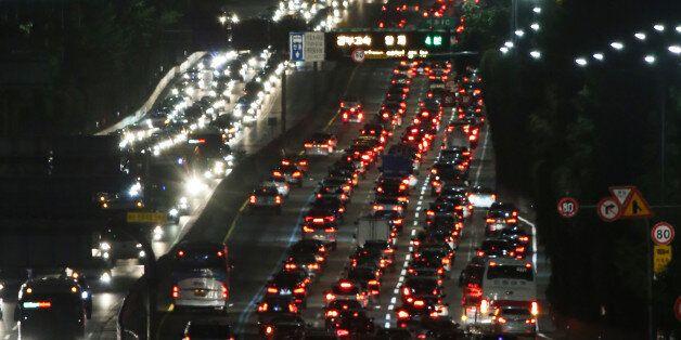 추석 당일 하루교통량 역대