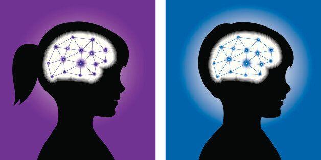 이 불편한 이미지들이 남성과 여성 뇌의 차이를
