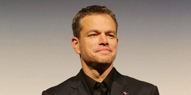 Matt Damon seen at Twentieth Century Fox 'The Martian' Premiere Gala at the 2015 Toronto International...