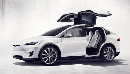 테슬라, SUV '모델 X' 출시! (사진,